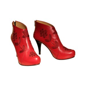 Ankle-Red-Rose