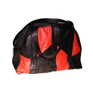 Bags-Handbag-Red-Black-Mountain-