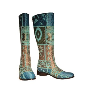 Knee-High-Turquoise